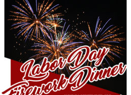 Labor Day Firework Dinner